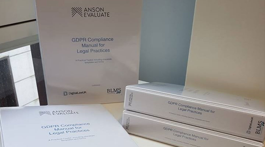 GDPR Compliance Manuals for Legal Practices